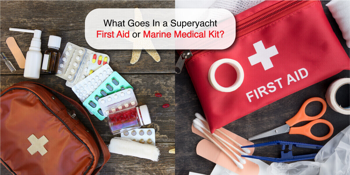 yacht medical kit